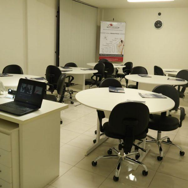 Sala de Treinamento da Emerson Fabris - Palestra, Treinamento e Consultoria